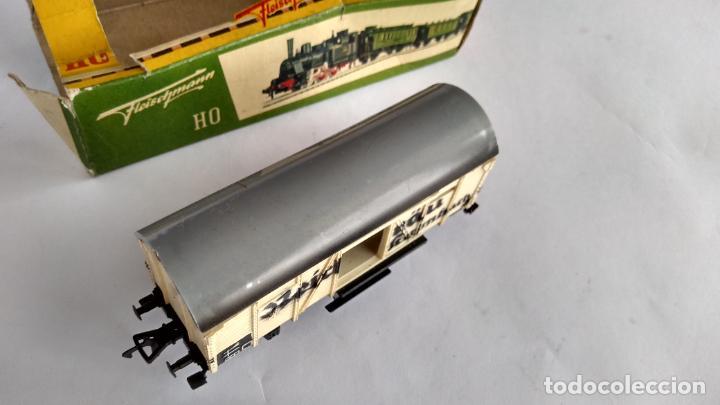 Trenes Escala: FLEISCHMANN H0, VAGÓN CARGA, CON CAJA. VÁLIDO IBERTREN,ROCO, ETC - Foto 4 - 262094545