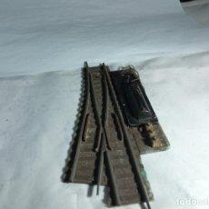 Trenes Escala: DESVIO ELECTRICO IZQUIERDO ESCALA HO DE FLEISCHMANN. Lote 264766764
