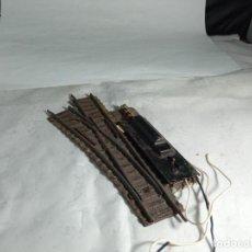 Trenes Escala: DESVIO ELECTRICO IZQUIERDO ESCALA HO DE FLEISCHMANN. Lote 264769389