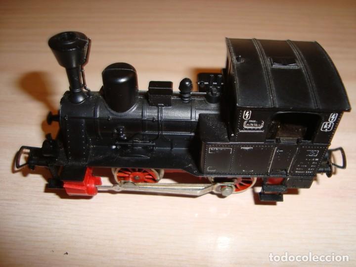 MAQUINA DE TREN FLEISCHMANN, MOTOR 504003. COMO NUEVA (Juguetes - Trenes Escala H0 - Fleischmann H0)