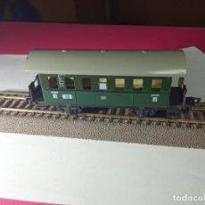 Trains Échelle: VAGÇN PASAJEROS 2 EJES ESCALA HO DE FLEISCHMANN. Lote 266166713