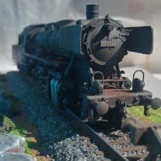 Trenes Escala: LOCOMOTORA A VAPOR H0. Lote 266267373