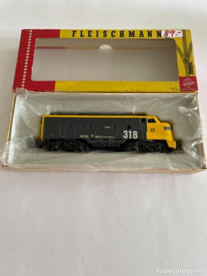 Trenes Escala: FLEISCHMANN. HO. REF 4701. RENFERIZADA 318 - Foto 6 - 267238189