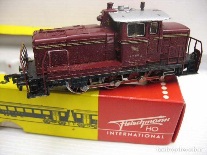 FLEISCHMANN TRACTORA HO CC 1379 (Juguetes - Trenes Escala H0 - Fleischmann H0)