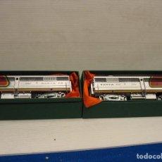 Trenes Escala: SANTA FE FLESCHMANN LA 1341 Y 1342. Lote 267825154