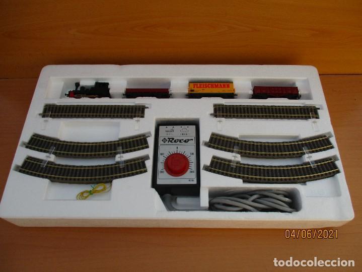 Trenes Escala: FLEISCHMAN CAJA DE INICIO Nº 6365 como nueva caja algun roce ver fotos - Foto 2 - 268909129