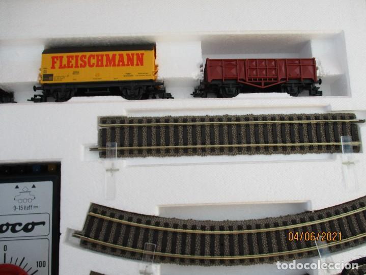 Trenes Escala: FLEISCHMAN CAJA DE INICIO Nº 6365 como nueva caja algun roce ver fotos - Foto 6 - 268909129
