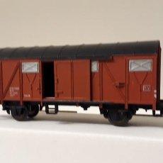 Trenes Escala: FLEISCHMANN H0 VAGÓN CERRADO TIPO GMHS-53 EUROP, DE LA DB, REFERENCIA 5330.. Lote 269580313