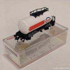 "Trenes Escala: FLEISCHMANN H0 5400- VAGÓN CISTERNA ""ESSO"". Lote 270139968"