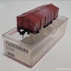 Trenes Escala: FLEISCHMANN H0 5209- VAGÓN MERCANCÍAS CERRADO. Lote 270144178