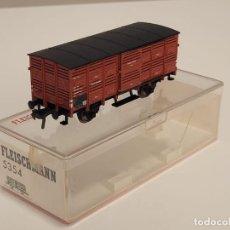 Trenes Escala: FLEISCHMANN H0 5354- VAGÓN MERCANCÍAS JAULA. Lote 270147223