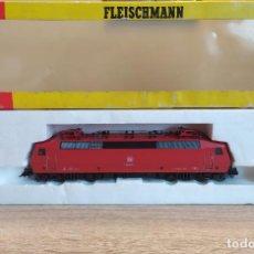 Trenes Escala: FLEISCHMANN H0 LOCOMOTORA ELÉCTRICA S/120, DE LA DB, REFERENCIA 4352 DC ANALÓGICA.. Lote 271597683