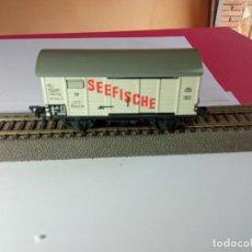 Trenes Escala: VAGÓN CERRADO ESCALA HO DE FLEISCHMANN. Lote 273508848