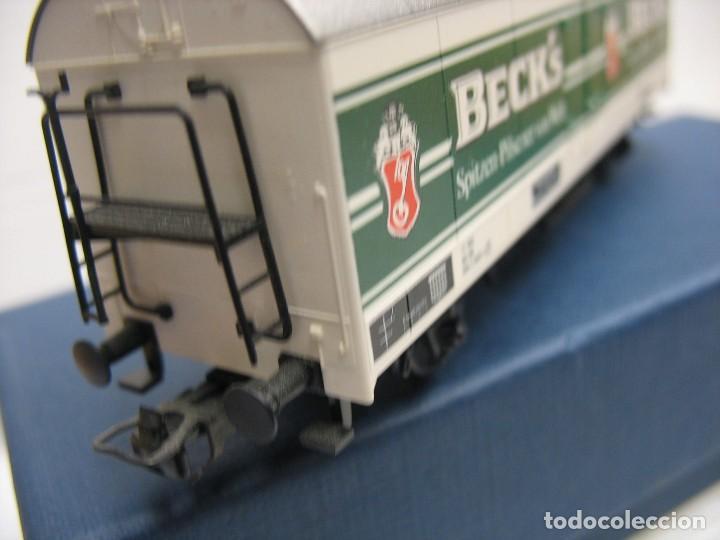 Trenes Escala: vagon fleischmann HO cervesas - Foto 3 - 273529463