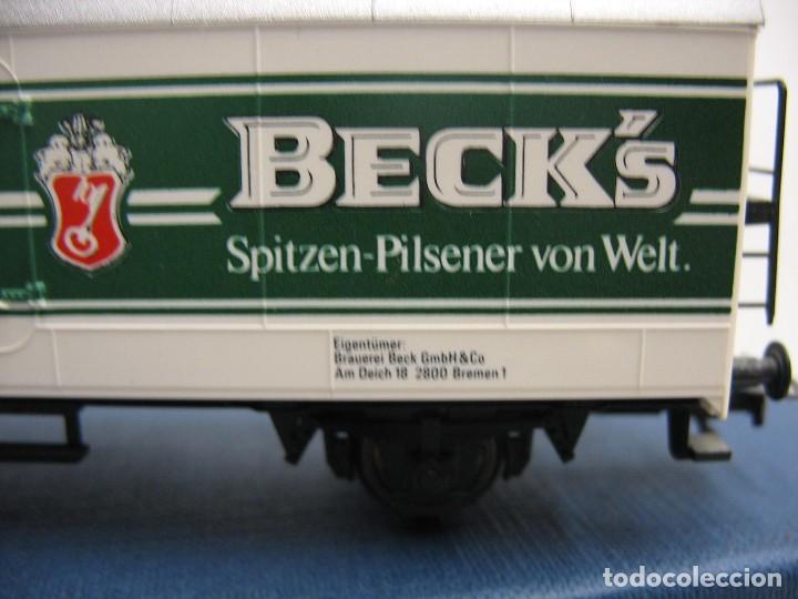 Trenes Escala: vagon fleischmann HO cervesas - Foto 7 - 273529463