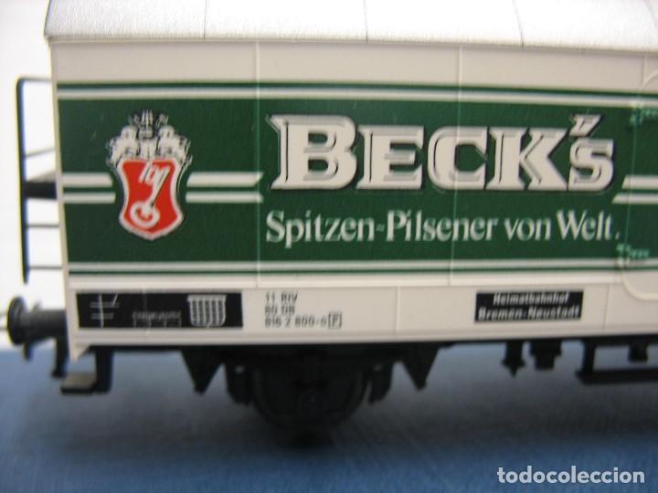 Trenes Escala: vagon fleischmann HO cervesas - Foto 8 - 273529463