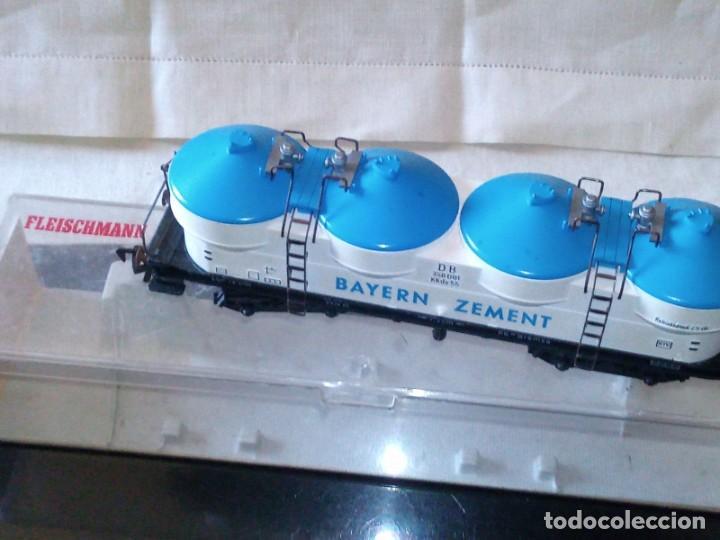 Trenes Escala: ~~~~ VAGÓN MERCANCÍAS FLEISCHMANN ESCALA H0, EN SU CAJA ~~~~ - Foto 5 - 276703343