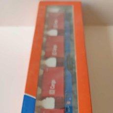 Comboios Escala: ROCO VAGON PLATAFORMA DOBLE CON CUATRO CONTENEDORES DE LA DB REF 47103 ESCALA H0. Lote 278806018