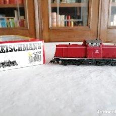 Trenes Escala: FLEISCHMANN H0 4228 LOCOMOTORA DIÉSEL BR 211 092-2 DB DIGITAL NUEVA OVP. Lote 284462613