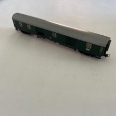 Trenes Escala: FLEISCHMANN. HO. REF 5501. FURGON EQUIPAJES. DB CON LUZ. Lote 284692228