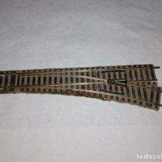 Trenes Escala: FLEISCHMANN H0 6140 DESVÍO A LA DERECHA PROFI BUEN ESTADO. Lote 286422488