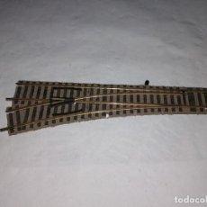 Trenes Escala: FLEISCHMANN H0 6170 W DESVÍO A LA IZQUIERDA PROFI BUEN ESTADO. Lote 286424828