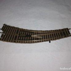 Trenes Escala: FLEISCHMANN H0 6142 R DESVÍO CURVO A LA DERECHA PROFI BUEN ESTADO. Lote 286425923