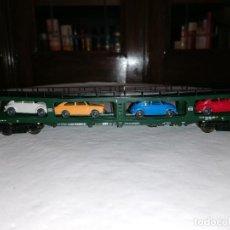 Trenes Escala: FLEISCHMANN H0 5284 VAGÓN PORTACOCHES DOBLE PISO DB. Lote 287319488