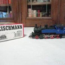 Trenes Escala: FLEISCHMANN H0 4033 LOCOMOTORA DE VAPOR ELB 3 DIGITAL OVP. Lote 287641288