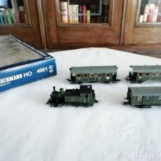 Trenes Escala: FLEISCHMANN H0 4901 TREN PASAJEROS CLASE 6000 PT 2/3 K.BAY.STS DIGITAL OVP. Lote 287641338