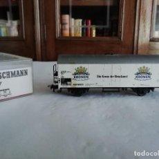 Trenes Escala: FLEISCHMANN H0 5327 VAGÓN CERRADO KRONEN DORTMUNDER DB OVP. Lote 287641568