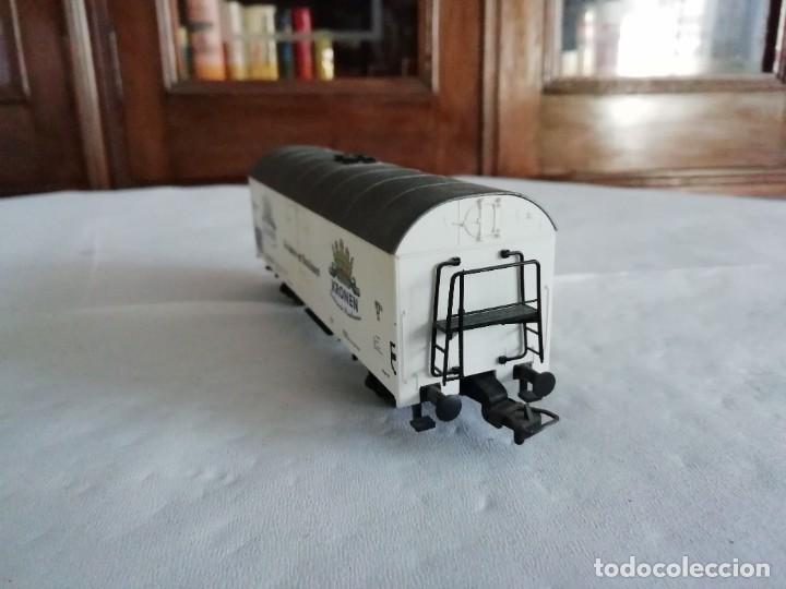 Trenes Escala: Fleischmann H0 5327 Vagón Cerrado Kronen Dortmunder DB OVP - Foto 5 - 287641568