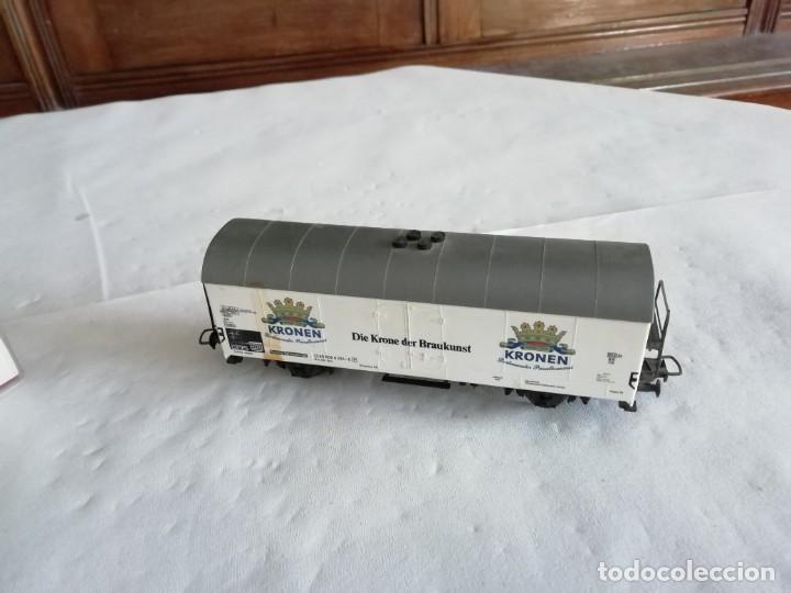 Trenes Escala: Fleischmann H0 5327 Vagón Cerrado Kronen Dortmunder DB OVP - Foto 6 - 287641568