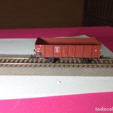 Trenes Escala: VAGÓN BORDE ALTO ESCALA HO DE FLEISCHMANN. Lote 287927703