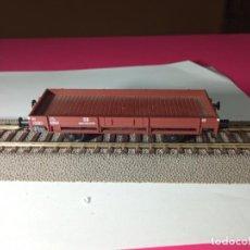 Trenes Escala: VAGÓN BORDE BAJO ESCALA HO DE FLEISCHMANN. Lote 287930613