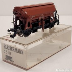 Trenes Escala: FLEISCHMANN H0 5510- VAGÓN MERCANCÍAS TOLVA. Lote 288035543