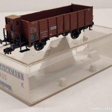 Trenes Escala: FLEISCHMANN H0 5825K- VAGÓN MERCANCÍAS CON GARITA. Lote 288035878