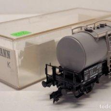 Trenes Escala: FLEISCHMANN H0 5417- VAGÓN CISTERNA HOECHST. Lote 288036213
