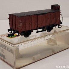 Trenes Escala: FLEISCHMANN H0 5355- VAGÓN CERRADO CON GARITA TIPO G. Lote 288036438