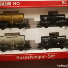 Trenes Escala: ESTUCHE FLEISCHMANN 94 5802 CISTERNAS. Lote 288066688
