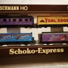 Trenes Escala: ESTUCHE CHOCOLATES FLEISCHMANN 5804. Lote 288067913