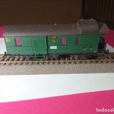 Trenes Escala: VAGÓN FURGON ESCALA HO DE FLEISCHMANN. Lote 288082628