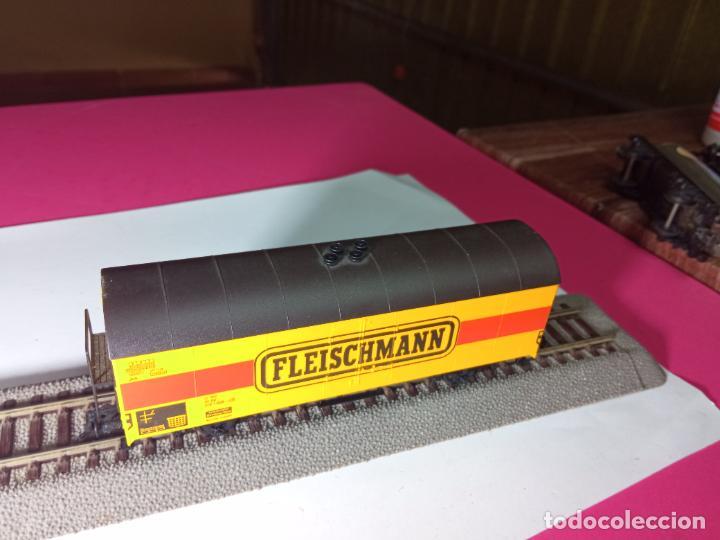 Trenes Escala: VAGÓN CERRADO ESCALA HO DE FLEISCHMANN - Foto 2 - 288082943