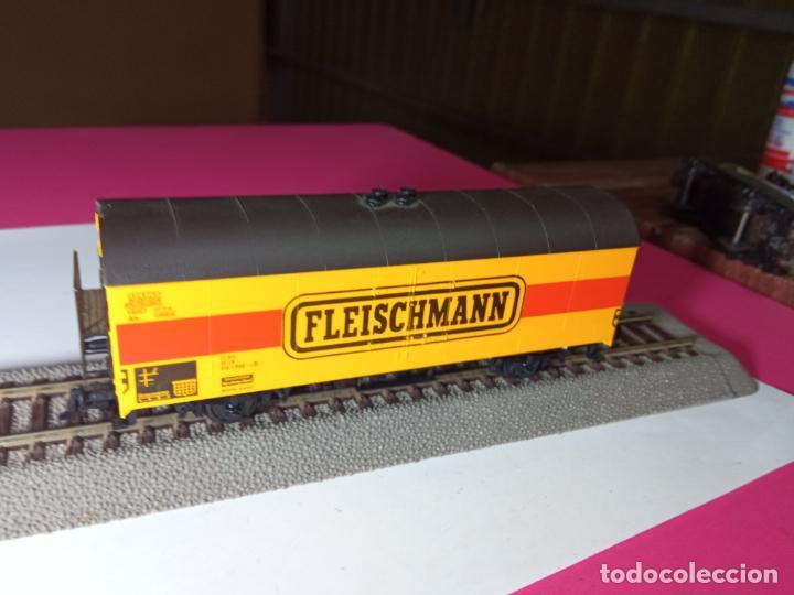 Trenes Escala: VAGÓN CERRADO ESCALA HO DE FLEISCHMANN - Foto 3 - 288082943