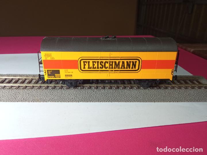 Trenes Escala: VAGÓN CERRADO ESCALA HO DE FLEISCHMANN - Foto 4 - 288082943