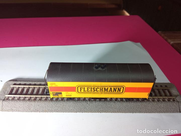 Trenes Escala: VAGÓN CERRADO ESCALA HO DE FLEISCHMANN - Foto 5 - 288082943