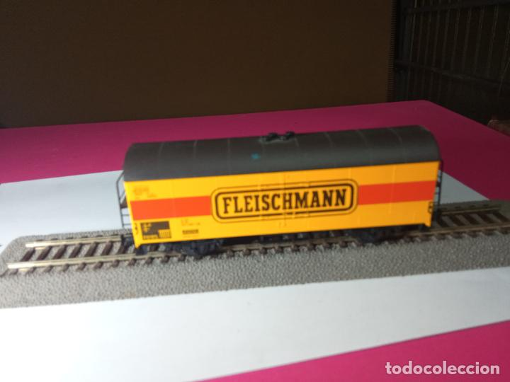 Trenes Escala: VAGÓN CERRADO ESCALA HO DE FLEISCHMANN - Foto 7 - 288082943