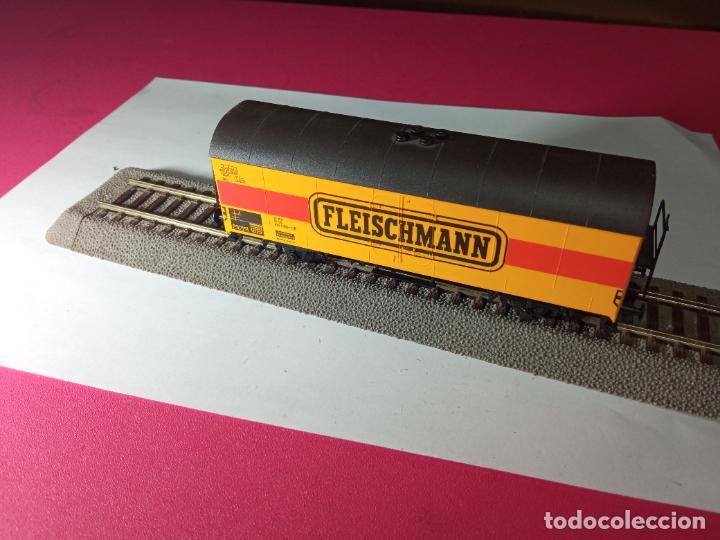Trenes Escala: VAGÓN CERRADO ESCALA HO DE FLEISCHMANN - Foto 8 - 288082943