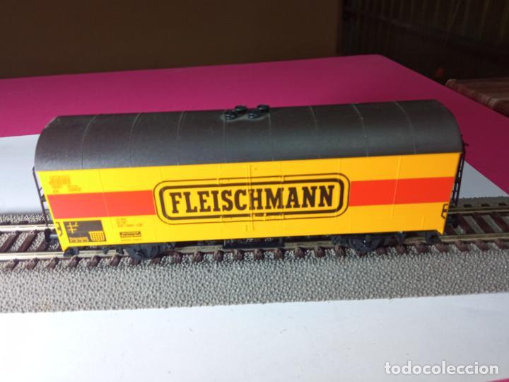 Trenes Escala: VAGÓN CERRADO ESCALA HO DE FLEISCHMANN - Foto 9 - 288082943
