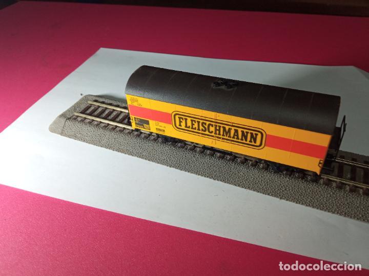 Trenes Escala: VAGÓN CERRADO ESCALA HO DE FLEISCHMANN - Foto 10 - 288082943